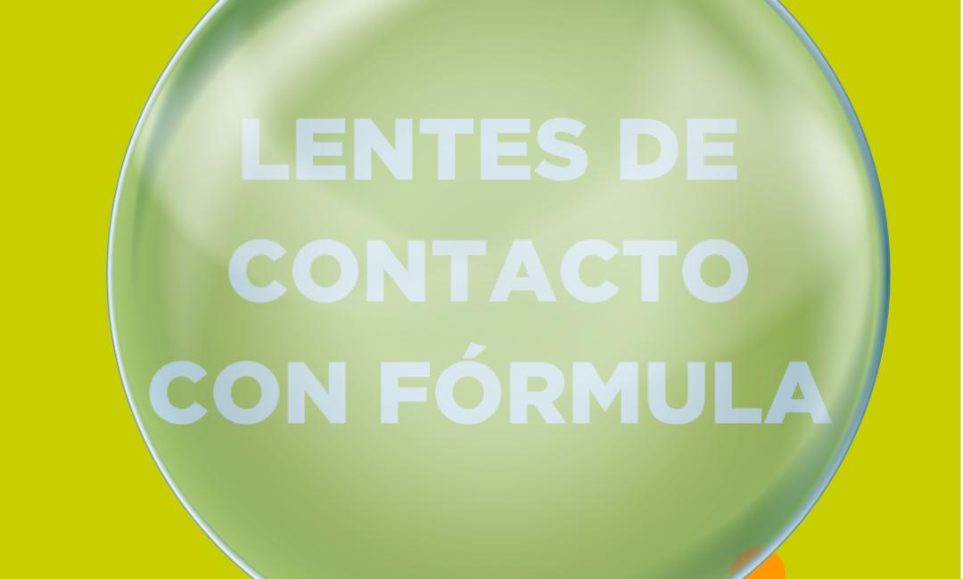 lentes de contacto con formula