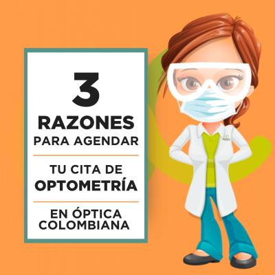 Pedir Cita de Optometría